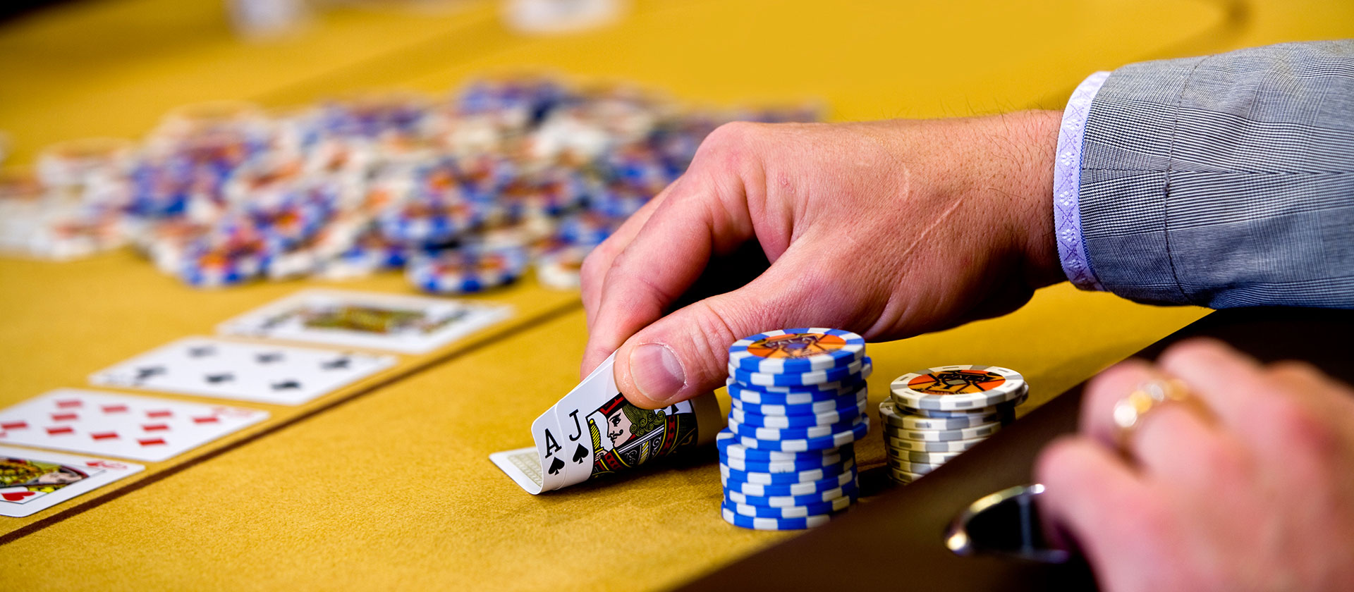 Playing At Live Poker